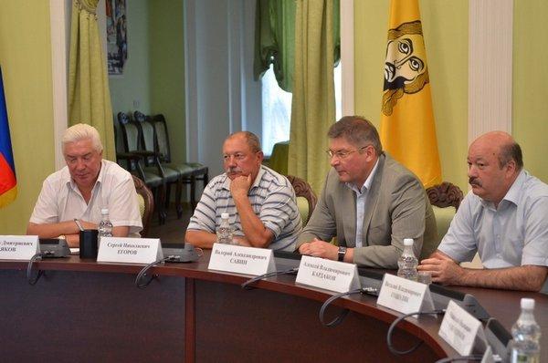Валерий Савин на заседании редколлегии Юридической энциклопедии Пензенской области